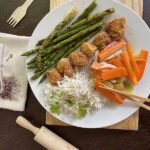 Receta Pollo rebozado sin gluten Chihuan con espárragos